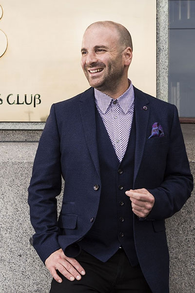 George Calombaris chef headshot