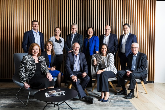 Chartered Accounts ANZ Corporate team photo