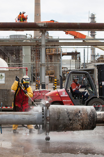 industrial photo drilling