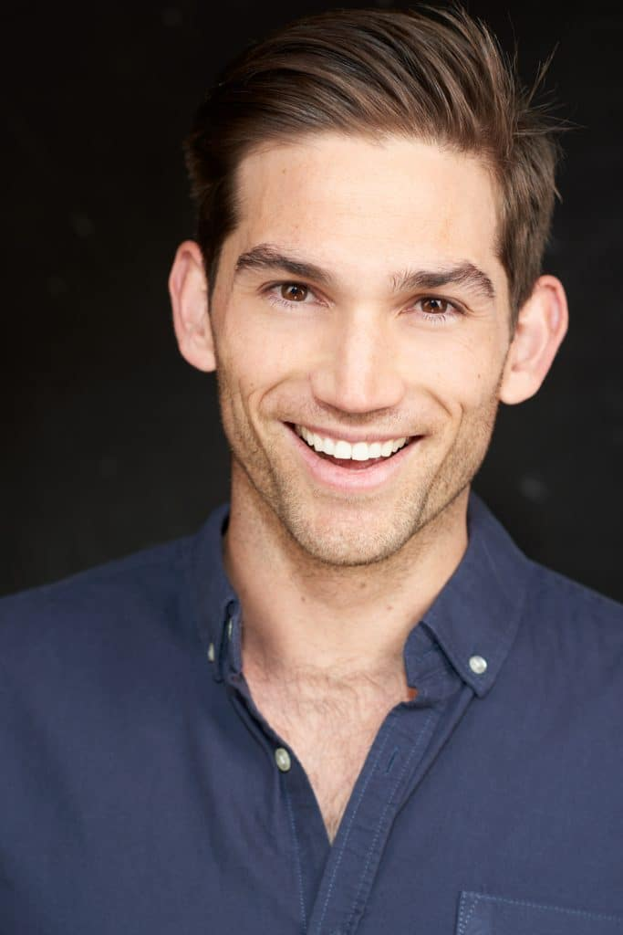 Actor headshot for Daniel Schepisi